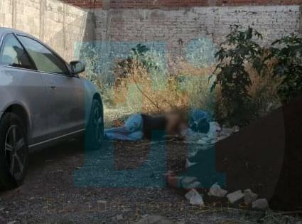 Persiguen y matan a ciclista en la colonia Palito Verde de Jacona