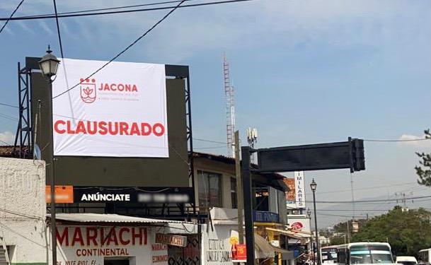 Reordena Gobierno de Jacona la publicidad en la vía pública