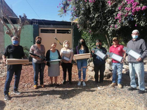 Estrenan alumbrado público en Riberas Valleza