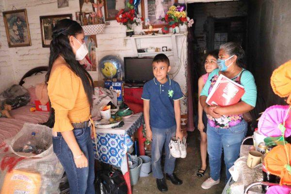 DIF Zamora dotará de zapatos a niños