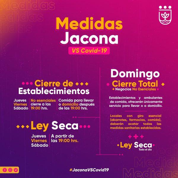 Define Jacona medidas sanitarias aplicables hasta nuevo aviso