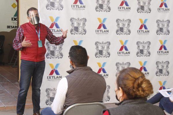 En Ixtlán, conforman brigadas de los guardianes de la salud