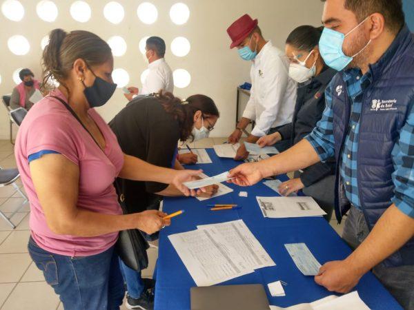 Entrega SSM estímulos por más de un millón 100 mil pesos a Auxiliares de la Salud
