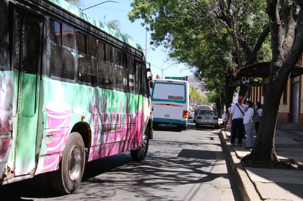 Transportistas operarán con la tercera parte del total de sus unidades el próximo 14 de febrero