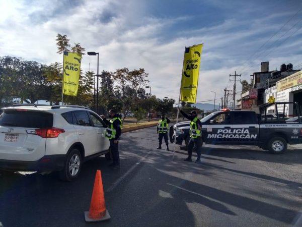 Mantiene SSP tareas preventivas en 11 municipios con Bandera Amarilla