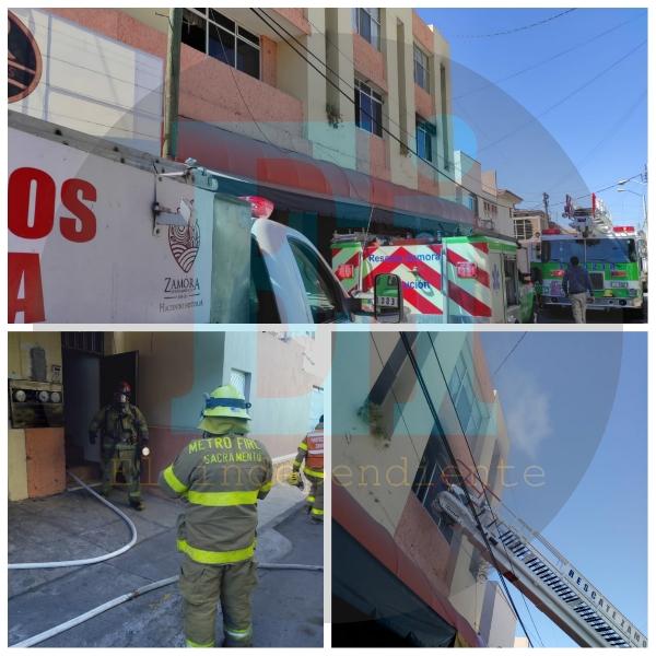 Se incendia departamento en el Fraccionamiento Las Fuentes