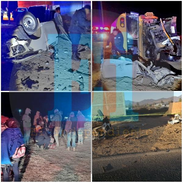 Un muerto y 25 heridos deja fatídico choque en Tangancícuaro