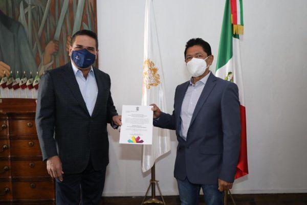 Nombra Gobernador a Gustavo Sánchez nuevo titular de Cofom