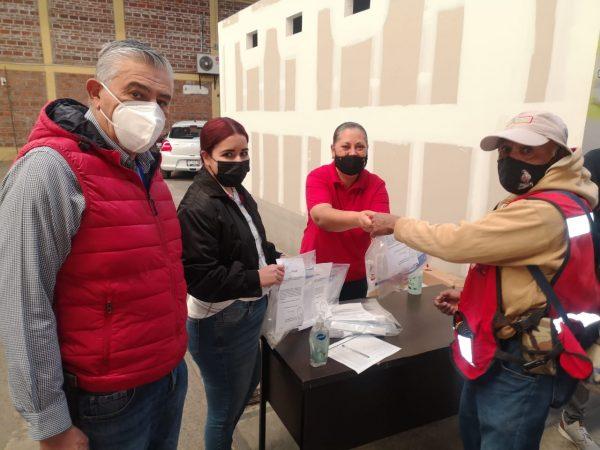 Proporciona SAPAZ paquetes de protección sanitaria a sus empleados