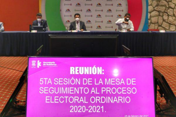 Pactan Segob y partidos acuerdo para buen desarrollo del proceso electoral