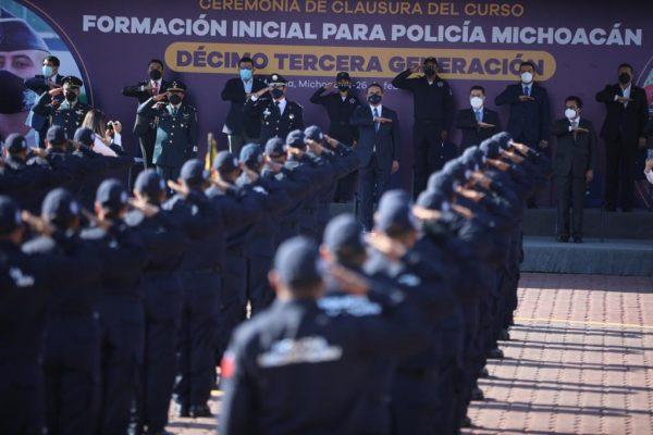 Meta cumplida: más de 5 mil policías capacitados por el IEESSPP en 5 años