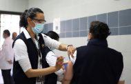 Más de 2 mil vacunas de COVID-19, han sido aplicadas a personal de salud