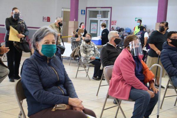 Agilizan jornada de vacunación a adultos mayores en Jacona