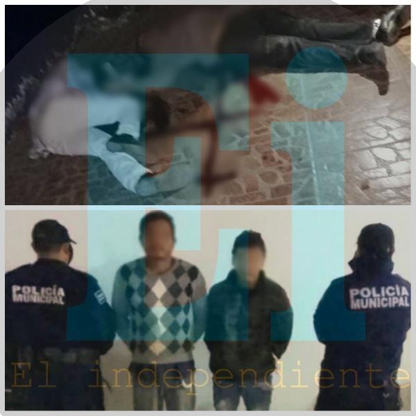 Delincuentes matan a padre e hijo en la Generalísimo Morelos, son detenidos cuando intentaban escapar