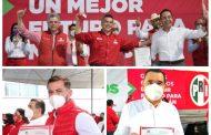 Carlos Herrera, Rubén Nuño y Domingo Méndez, ya son candidatos oficiales del PRI