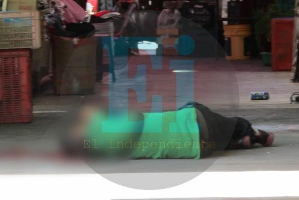 Delincuente matan a cargador del Mercado Hidalgo