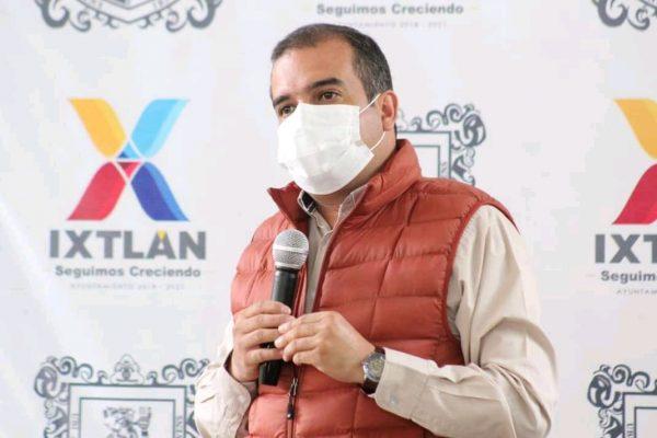 En Ixtlán acatan que en todo marzo negocios normalicen sus horarios
