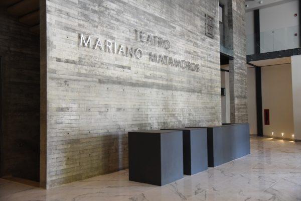 De talla mundial, instalaciones del Teatro Mariano Matamoros