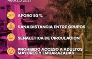 En Michoacán, balnearios deben funcionar al 50% de su capacidad