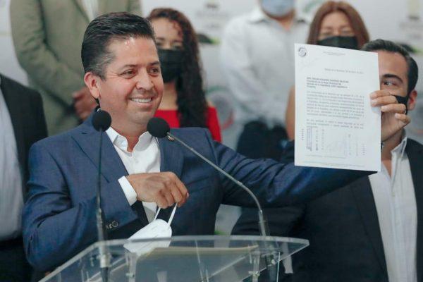 Toño García obtiene licencia del Senado de la República; Va de lleno con el Equipo por Michoacán
