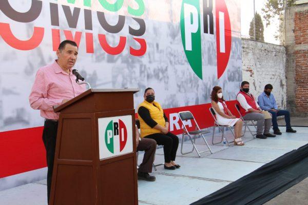 Celebran 92 años del PRI, serán fortaleza y unión de cara a próxima elección