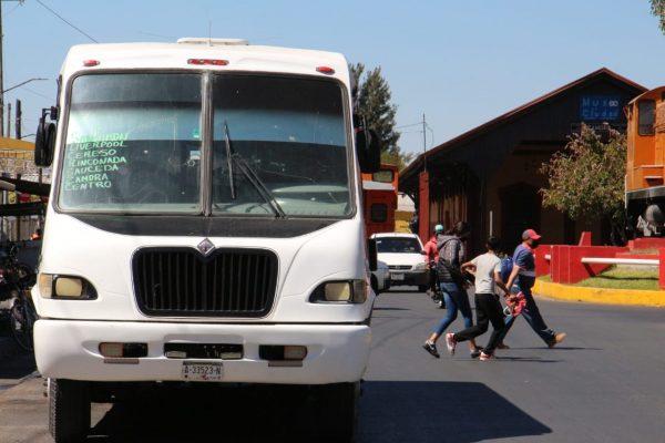 Transporte volverá a operar al 50 por ciento a partir del fin de semana