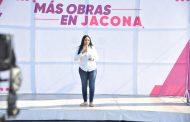 Adriana da banderazo de arranque a más de 20 obras en el municipio