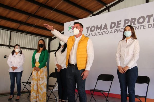 Domingo Méndez precandidato a presidente municipal de Jacona