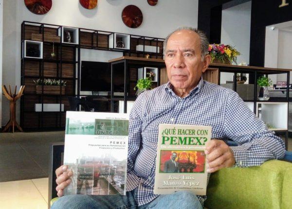 """""""AMLO, marcó inicio del saneamiento de PEMEX"""": José Luis Manzo Yépez"""