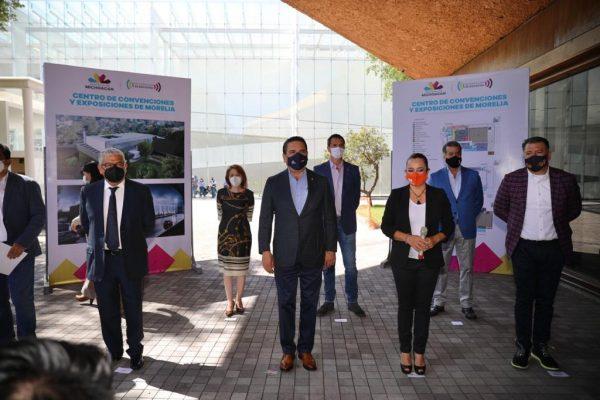 Será Ceconexpo nuevo motor de impulso a negocios y empresas de Michoacán: Silvano Aureoles