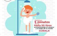 Recomienda SAPAZ cuidar el agua durante estiaje