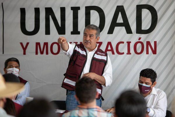 Nuestra postulación a la gubernatura de Michoacán sigue firme: Raúl Morón