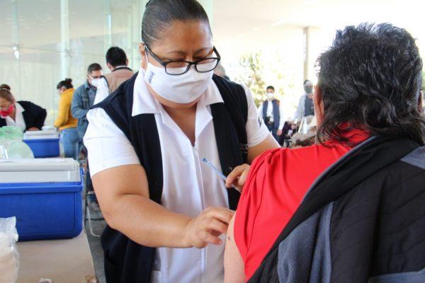 Garantizan aplicación de vacuna de mismo laboratorio en segunda dosis