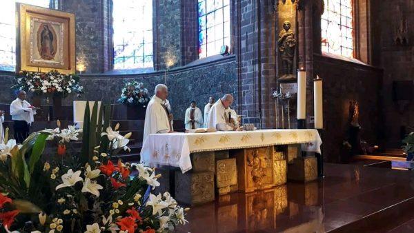 Temor por pandemia ahuyenta a feligreses de los templos católicos