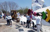 Con Educación Solidaria, dan arranque a construcción de aula en Ecuandureo