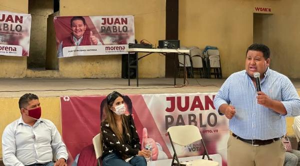 """""""Esta no es una candidatura que me pertenezca, le pertenece a la gente"""": Juan Pablo Puebla"""