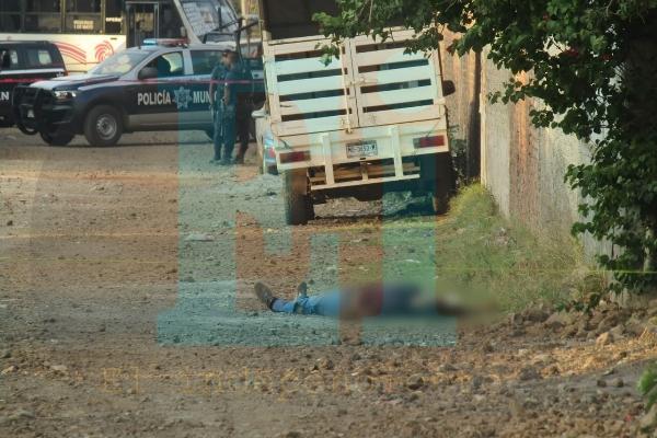 Se registra otro homicidio en Jacona, ahora en la Palito Verde