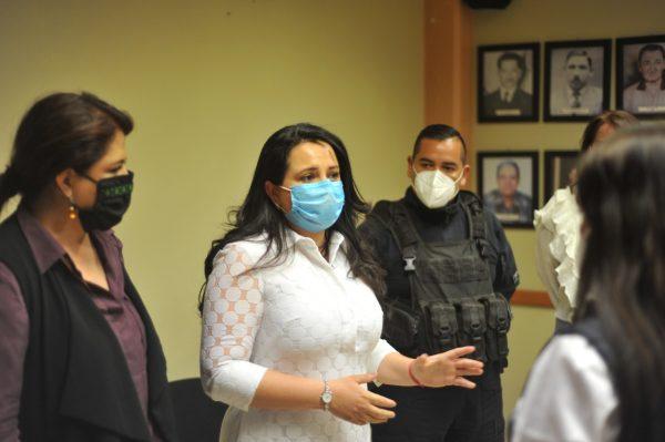 Presidenta de Jacona efectúa reunión con autoridades Estatales y Federales sobre el caso de Sofía