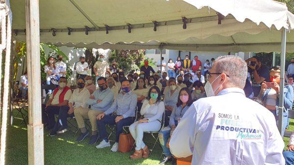 Necesitamos dar un mejor rumbo a nuestro distrito, municipio y estado: Enrique Godínez