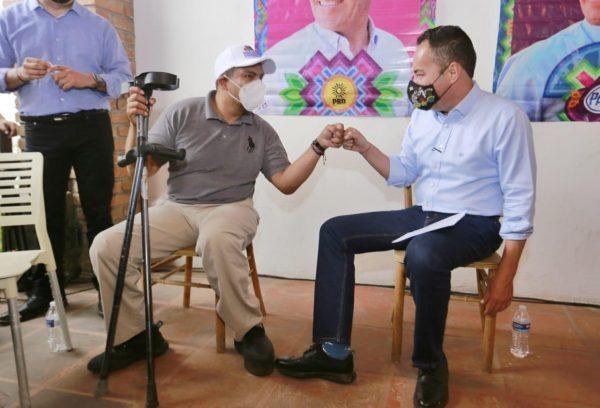 Un Michoacán incluyente y con oportunidades: Carlos Herrera