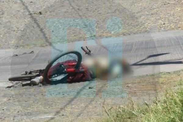 A balazos dan muerte a un ciclista en la colonia Mirador de San Pablo