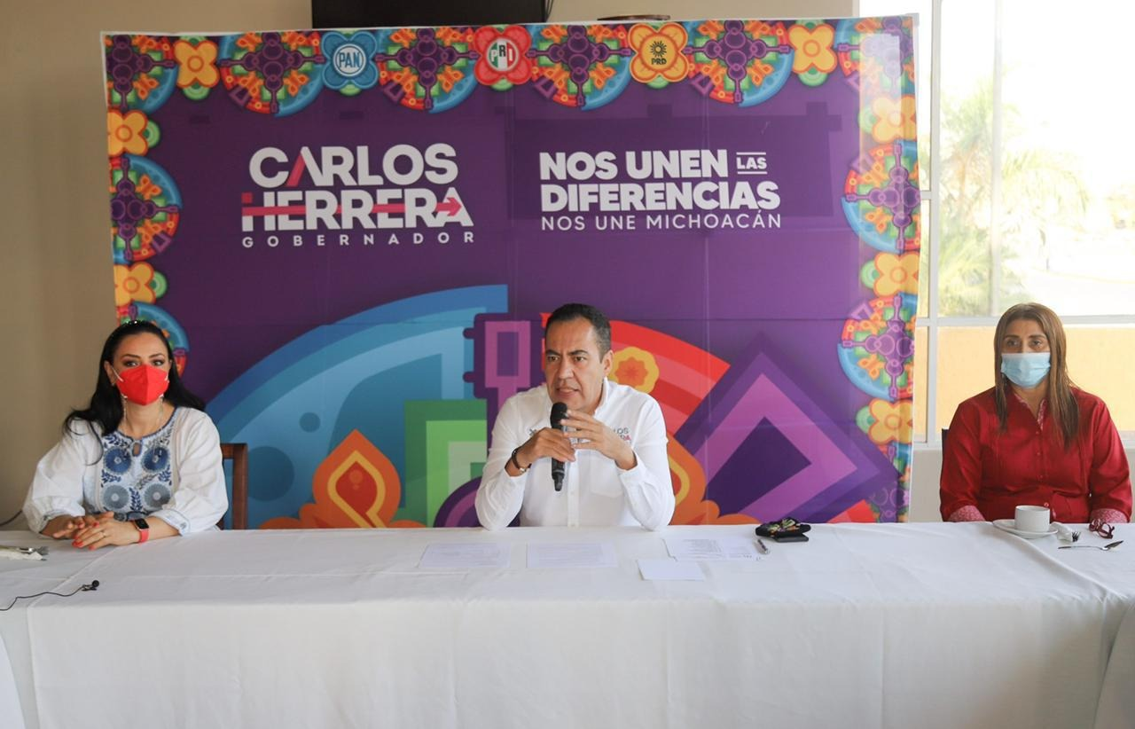 Presenta Carlos Herrera sus ocho ejes de campaña