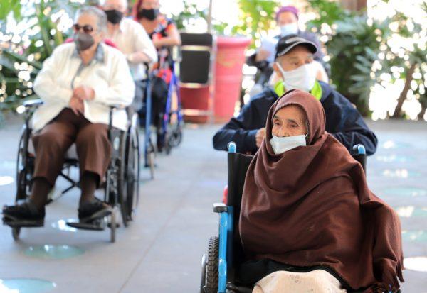 Registra Michoacán 3 mil 377 defunciones de adultos mayores por COVID-19