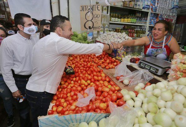 Consumir local será un sello en Michoacán: Carlos Herrera