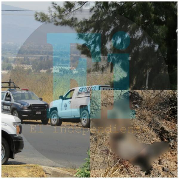 Hallan a 2 hombres y una mujer decapitados cerca del Libramiento Sur de Jacona
