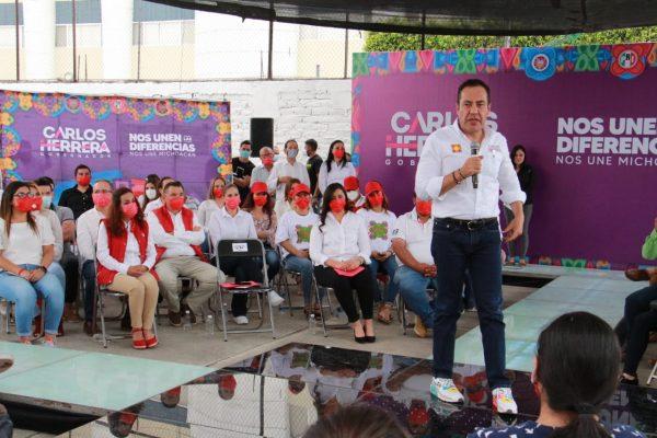 Solo juntos vamos a resolver condición crítica de Michoacán: Carlos Herrera