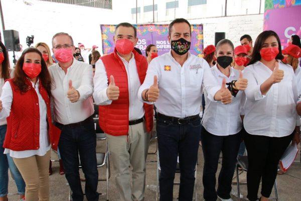 """Ante la peor crisis de últimos 100 años, importante hacer """"Equipo por Michoacán"""": Herrera Tello"""