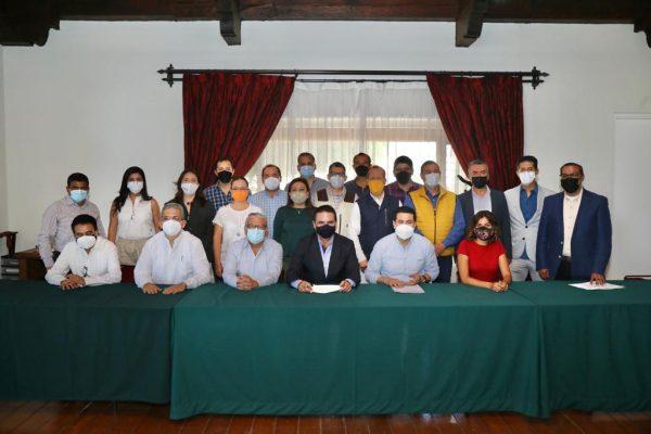 Da seguimiento Gabinete Legal a ejes de trabajos prioritarios en Michoacán