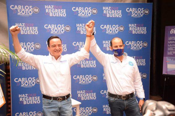 Mi eje de propuestas está dirigida a propiciar el empleo, seguridad y una administración honesta y transparente: Carlos Soto
