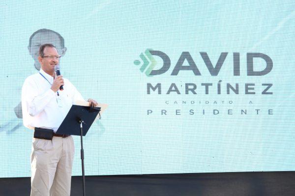 Trabajar de la mano con el ciudadano esencial para dar resultados: David Martínez